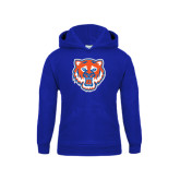 Youth Royal Fleece Hood-Bearkat Head