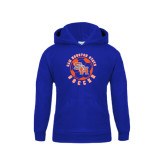 Youth Royal Fleece Hood-Soccer Circle