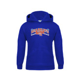 Youth Royal Fleece Hood-Baseball Design