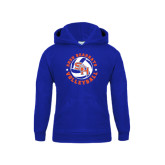 Youth Royal Fleece Hood-Volleyball Stars Design