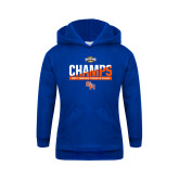 Youth Royal Fleece Hoodie-Southland Conference Indoor Track and Field Champions