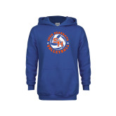 Youth Royal Fleece Hoodie-Volleyball Stars Design