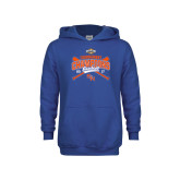 Youth Royal Fleece Hoodie-2017 Southland Conference Baseball Champions