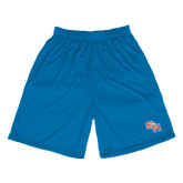 Performance Royal 9 Inch Length Shorts-SH Paw Official Logo
