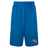 Performance Classic Royal 9 Inch Short-SH Paw Official Logo