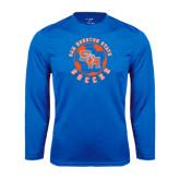 Syntrel Performance Royal Longsleeve Shirt-Soccer Circle