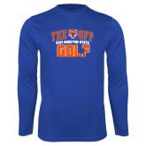Syntrel Performance Royal Longsleeve Shirt-Golf Tee Off