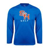 Syntrel Performance Royal Longsleeve Shirt-Golf