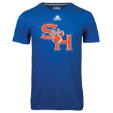 Adidas Climalite Royal Ultimate Performance Tee-SH Paw Official Logo