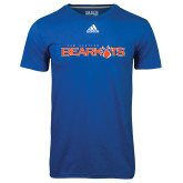 Adidas Climalite Royal Ultimate Performance Tee-Sam Houston Bearkats