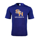 Performance Royal Heather Contender Tee-Grandpa