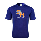 Performance Royal Heather Contender Tee-Soccer