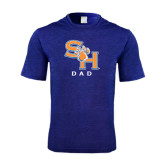 Performance Royal Heather Contender Tee-Dad