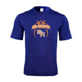 Performance Royal Heather Contender Tee-Basketball in Ball