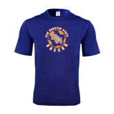 Performance Royal Heather Contender Tee-Soccer Circle