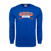 Royal Long Sleeve T Shirt-Baseball Bats