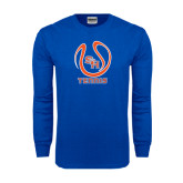 Royal Long Sleeve T Shirt-Tennis Ball