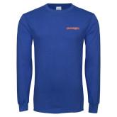 Royal Long Sleeve T Shirt-Sam Houston Bearkats