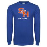 Royal Long Sleeve T Shirt-Baseball