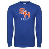 Royal Long Sleeve T Shirt-Golf