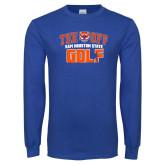 Royal Long Sleeve T Shirt-Golf Tee Off