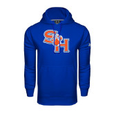 Under Armour Royal Performance Sweats Team Hood-SH Paw Official Logo