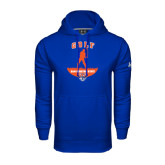 Under Armour Royal Performance Sweats Team Hood-Golf Stacked