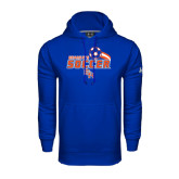 Under Armour Royal Performance Sweats Team Hood-Soccer Swoosh