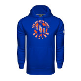 Under Armour Royal Performance Sweats Team Hood-Soccer Circle