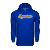 Under Armour Royal Performance Sweats Team Hood-Softball Lady Design