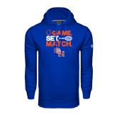 Under Armour Royal Performance Sweats Team Hood-Tennis Game Set Match
