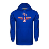 Under Armour Royal Performance Sweats Team Hood-Track and Field Design