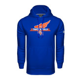 Under Armour Royal Performance Sweats Team Hood-Track and Field Side Design