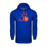 Under Armour Royal Performance Sweats Team Hood-Volleyball Design