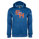 Under Armour Royal Performance Sweats Team Hoodie-SH Paw Official Logo