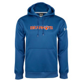 Under Armour Royal Performance Sweats Team Hoodie-Sam Houston Bearkats