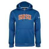 Under Armour Royal Performance Sweats Team Hoodie-Arched SHSU