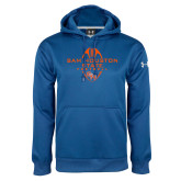 Under Armour Royal Performance Sweats Team Hoodie-Tall Football Design