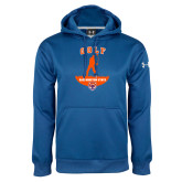 Under Armour Royal Performance Sweats Team Hoodie-Golf Stacked