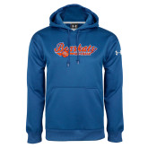 Under Armour Royal Performance Sweats Team Hoodie-Softball Lady Design