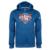 Under Armour Royal Performance Sweats Team Hoodie-Softball Design w/ Bats and Plate