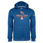 Under Armour Royal Performance Sweats Team Hoodie-Track and Field Design