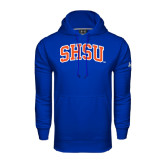 Under Armour Royal Performance Sweats Team Hood-Arched SHSU