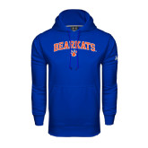 Under Armour Royal Performance Sweats Team Hood-Arched Bearkats w/Paw