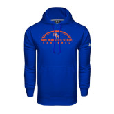 Under Armour Royal Performance Sweats Team Hood-Arched Football Design