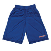 Midcourt Performance Royal 9 Inch Game Short-Bearkats