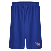 Performance Royal 9 Inch Short w/Pockets-SH Paw Official Logo