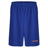 Performance Royal 9 Inch Short w/Pockets-Sam Houston Bearkats