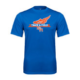 Syntrel Performance Royal Tee-Track and Field Side Design