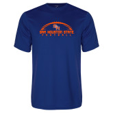 Performance Royal Tee-Arched Football Design